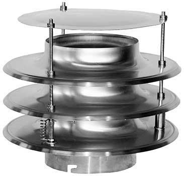 SAIRLIFT mit Bajonettverschluss CNS und Kupfer