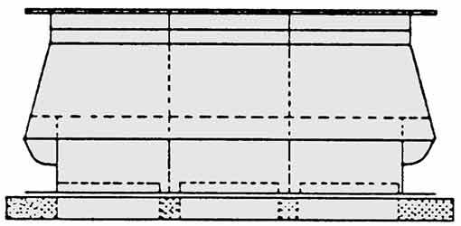 Kaminaufsätze für Dreizüger