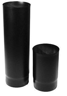 Rauchrohr steckbar roh St. 37/2 mm, L = 500 mm