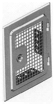 Revisionstüren mit Frischluftdurchlass