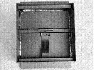 Russtüren St. 37/2 mm für Kachelfüllung gasdicht