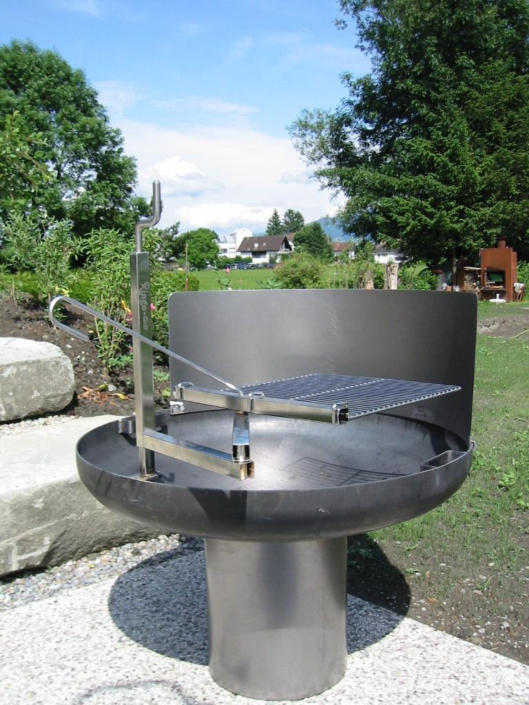 Grill-Feuerschale Stahl 4 mm