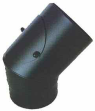 Bogen 45° fest mit Putzdeckel