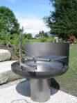 Grill-Feuerschale Stahl 4 mm 1